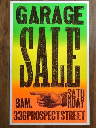 Posters- Garage Sale